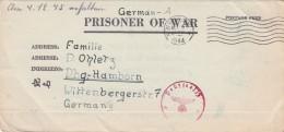 Deutsches Reich POW Post Brief 1944 - Germany