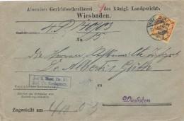 Deutsches Reich Brief Dienstpost Nr. 6 - Germany