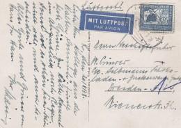 Deutsches Reich Postkarte 1938 - Germany
