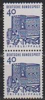 BRD 1964 MiNr.457 Senkr. Paar  ** Postfr. Deutsche Bauwerke ( 7126 ) Günstige Versandkosten - Unused Stamps