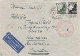 Deutsches Reich Luftpost Brief 1937 - Germany