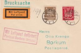 Deutsches Reich Luftpost Brief 1925 - Germany