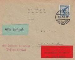 Deutsches Reich Luftpost Brief 1926 - Germany