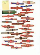LOT 10/2 :   Bague K 836 / Lot De 25 Bagues - Cigar Bands