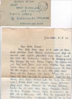 Kriegsgefangenenpost POW Gruenstadt Nach PWE #12 Lager D - Babenhausen - Mit Inhalt - 1946 (35484) - American,British And Russian Zone