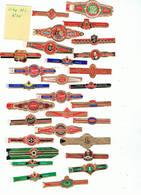 LOT 10/3 :   Bague K 836 / Lot De 25 Bagues - Cigar Bands