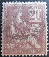 R1752/491 - 1900 - TYPE MOUCHON - N°117 CàD - Cote : 15,00 € - 1900-02 Mouchon