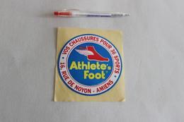 AMIENS   VOS CHAUSSURES POUR 36 SPORTS ATHLETE'S FOOT   1 Autocollant - Stickers