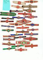 LOT 11/1 :   Bague K 836 / Lot De 30 Bagues - Cigar Bands
