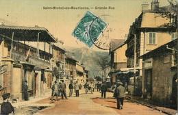 SAINT-MICHEL-DE-MAURIENNE GRANDE-RUE CARTE TOILEE 73 - Saint Michel De Maurienne
