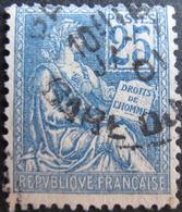 R1752/492 - 1900 - TYPE MOUCHON - N°114 CàD : PARIS GARE - Cote : 10,00 € - 1900-02 Mouchon