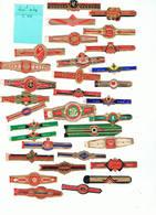LOT 11/2 :   Bague K 836 / Lot De 30 Bagues - Cigar Bands