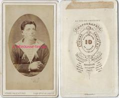 CDV Vers 1870 Marin Photographié Par Etienne Carjat-en L'état - Krieg, Militär