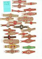 LOT 12/2 :   Bague G. K. / Lot De 25 Bagues - Cigar Bands