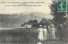 SAINT-ALBAN-DE-MONTBEL BORDS DU LAC D'AIGUEBELETTE VILLA VADON CHAINE DU MONT LEPINE 73 - France