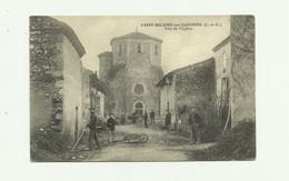 47 - SAINT HILAIRE Sur  GARONNE - Vue De L'eglise Animée Bon Etat - France