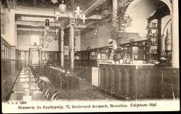 Brussel : Brasserie Du Kapiteyntje, Bd Anspach 77 - Cafés, Hôtels, Restaurants