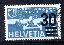 929 490 - SVIZZERA 1935 , Posta Aerea Unificato N. 22 Usato - Usados