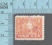 Timbre Fiscaux Canada -FWT7, 1¢, War Tax  , 1915, Tax Stamp - Fiscaux