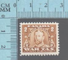 Timbre Fiscaux Canada -FWT8, 2¢, War Tax  , 1915, Tax Stamp - Fiscaux