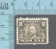 Timbre Fiscaux Canada -FWT13, 10¢, War Tax  , 1915, Tax Stamp - Fiscaux