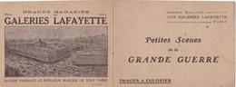 GALERIES LAFAYETTE IMAGES A COLORIER (dil374) - Publicités