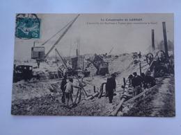 La Catastrophe De Lorroy:l'ensemble Des Machines à Vapeur Pour Reconstruire Le Canal - France