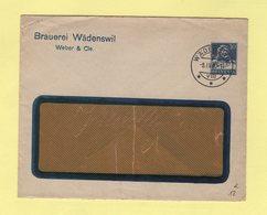 Suisse - Entier Postal Privé - Brauerei Wadenswil - Weber & Cie - 1930 - Enteros Postales