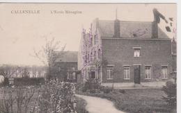 Callenelle. L'école Ménagère. - Belgium