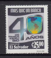 El Salvador MNH Michel Nr 2179 From 1999 / Catw 10.00 EUR - El Salvador