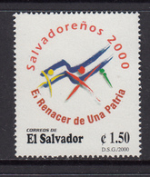 El Salvador MNH Michel Nr 2186 From 2000 / Catw 0.90 EUR - El Salvador