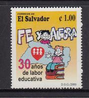 El Salvador MNH Michel Nr 2189 From 2000 / Catw 0.60 EUR - El Salvador