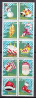 El Salvador MNH Michel Nr 2235/44 From 2000 / Catw 6.00 EUR - El Salvador