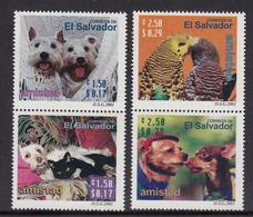 El Salvador MNH Michel Nr 2250/53 From 2001 / Catw 5.50 EUR - El Salvador