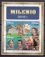 El Salvador MNH Michel Nr Block 52 From 2000 / Catw 4.00 EUR - El Salvador