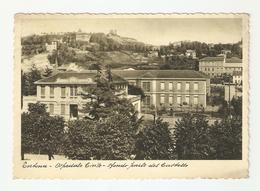 CT--02557-- TORTONA- OSPEDALE CIVILE - SFONDO PARTE DEL CASTELLO - VIAGGIATA 1936 - Other Cities
