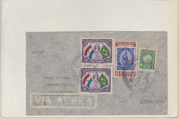 AIRMAIL CIRCULEE PARAGUAY TO ARGENTINE. OBLIT CIRCA 1940's. AUTRES MARQUES - BLEUP - Paraguay