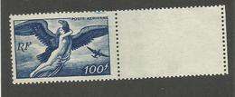 FRANCE - POSTE AERIENNE N°YT 18 NEUF** SANS CHARNIERE BORD DE FEUILLE - COTE YT : 9€ - 1946/47 - 1927-1959 Neufs