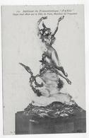 PAQUEBOT TRANSATLANTIQUE LE PARIS - N° 10 - OBJET D' ART MARRAINE DU PAQUEBOT - CPA NON VOYAGEE - 75 - Paquebots