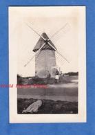 Photo Ancienne - SAINT GEORGES ? - Beau Moulin à Vent à Identifier - 1932 - Moulin Des Alouettes Les Herbiers - Places