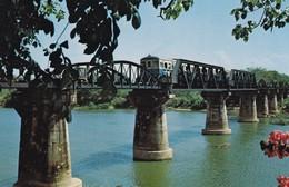Postcard The Bridge On The River Kwai Kanchanaburi Province Thailand My Ref  B12267 - Thailand