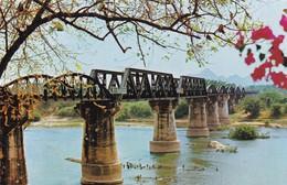 Postcard The Bridge On The River Kwai Kanchanaburi Province Thailand Built By WW2 Prisoners My Ref  B12268 - Thailand
