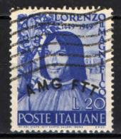 TRIESTE - AMGFTT - 1949 - LORENZO IL MAGNIFICO - USATO - 7. Trieste