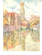 CPM - Brugge 1930  Série A7  - Illustration M.Faingnaert - Brugge