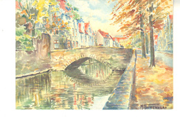 CPM - Brugge 1930  Série A3  - Illustration M.Faingnaert - Brugge