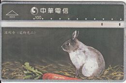 TAIWAN - Rabbit, Chunghwa Telecard(9003), CN : 973B, Used - Konijnen