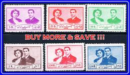PERSIA 1951 SHAH's WEDDING MNH White GUM CV$80.00 For Mnh (APR2018) - Iran