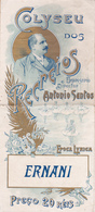 Portugal -Programas Antigos De Temporadas Liricas -1936 -1937 - Libros, Revistas, Cómics