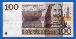 Pays  Bas  100  Gulden   1970 - [2] 1815-… : Kingdom Of The Netherlands