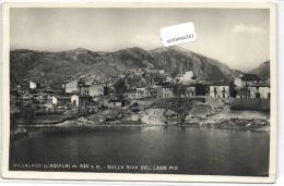 1 Postcard L'aquila Villalago - Sulla Riva Del Lago Pio - L'Aquila
